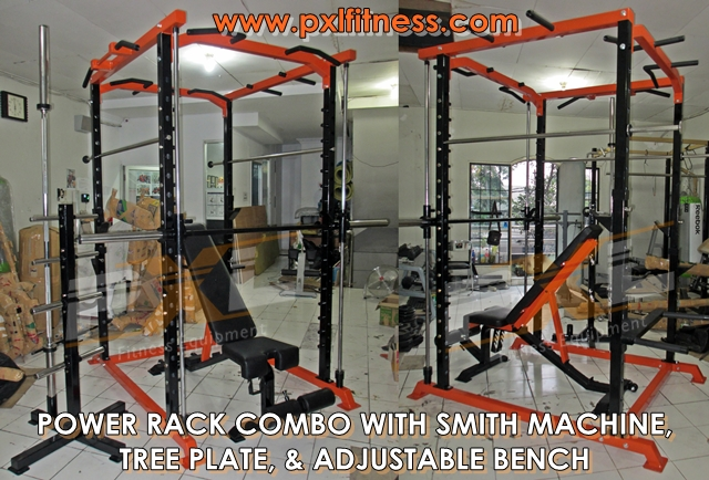 Power Rack Combo with Smith Machine