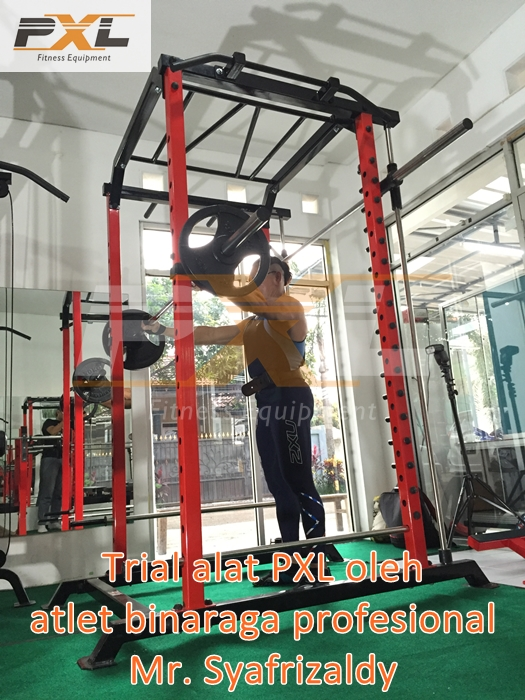 Power Rack combo with Smith Machine & Monkey Bar + Chinning