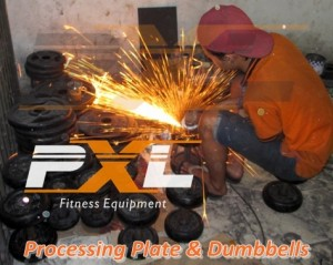 PXL - Processing Plate & Dumbbells