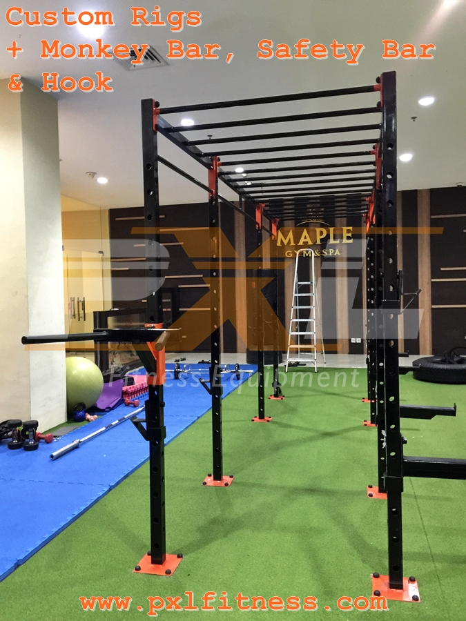 Custom Rigs for Maple Gym Magelang