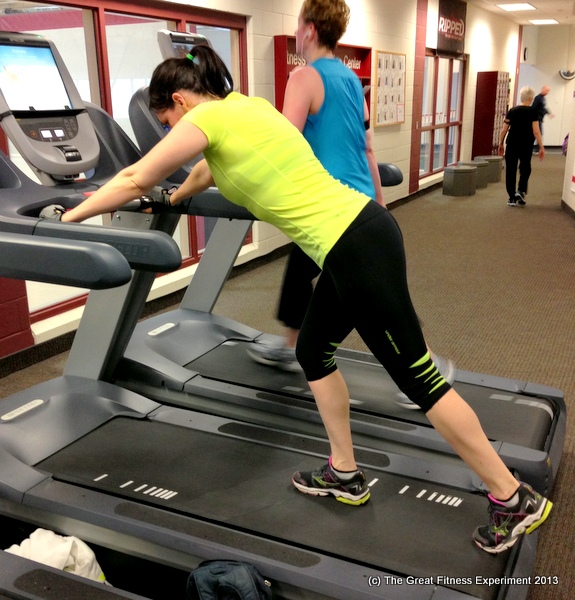 Treadmill Push